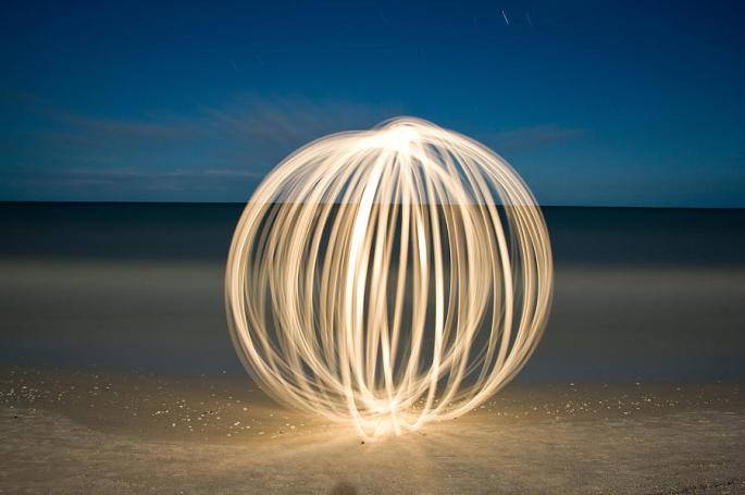 Ball Of Light Marco Island Beach is a photograph by Rich Franco